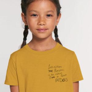 Camiseta corta Pedos