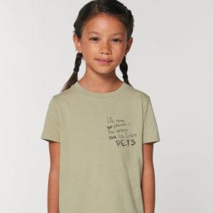 Camiseta corta Pets