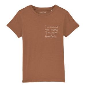 Camiseta corta Papá También
