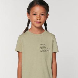 Camiseta infantil Santa
