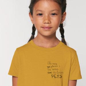 Samarreta infantil Pets Català