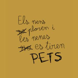 Samarreta Unisex Pets Català